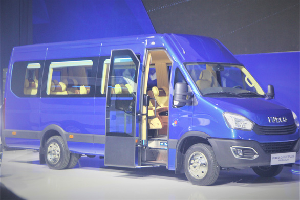 Thaco ra mắt xe Mini Bus Iveco Daily
