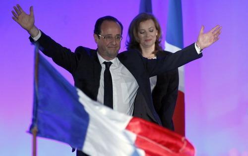 Francois Hollande đắc cử tổng thống Pháp