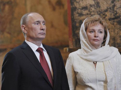Bí ẩn gia đình Tổng thống Putin