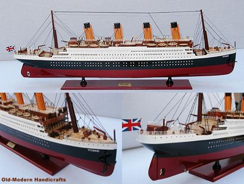 Tỷ phú Australia tái tạo tàu Titanic