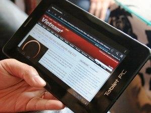 Tablet giá dưới 3 triệu đồng, nét như Kindle Fire
