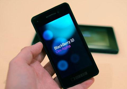 RIM trình làng mẫu thử nghiệm BlackBerry 10