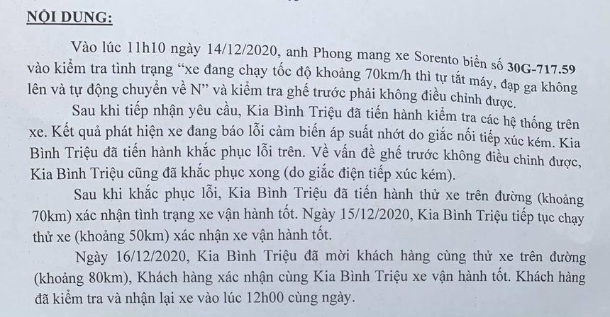 chu-xe-phan-anh-tinh-trang-kia-sorento-2021-bi-chet-may-dot-ngot