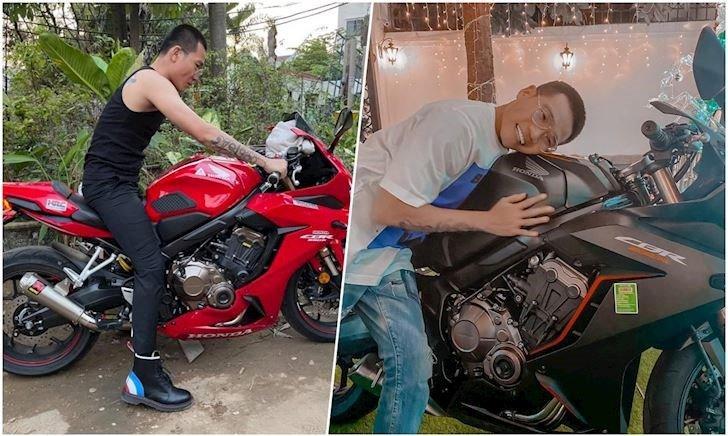 Bạn thân nhà người ta, rapper Wowy được tặng phân khối lớn khi mới có bằng lái, giá bằng Kia Morning