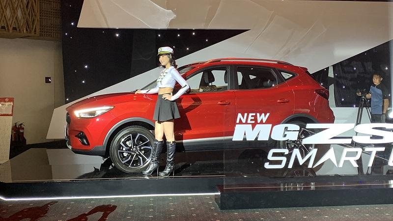 MG ZS ra mắt phiên bản nâng cấp, nhập từ Thái Lan, giá khởi điểm 569 triệu đồng
