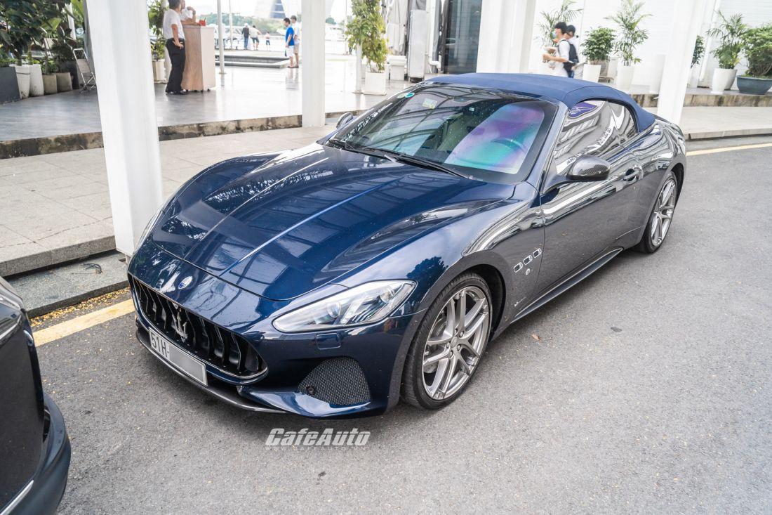 Diện kiến hàng hiếm Maserati Granturismo Cabriolet  giá 17 tỉ của dân chơi Sài Thành