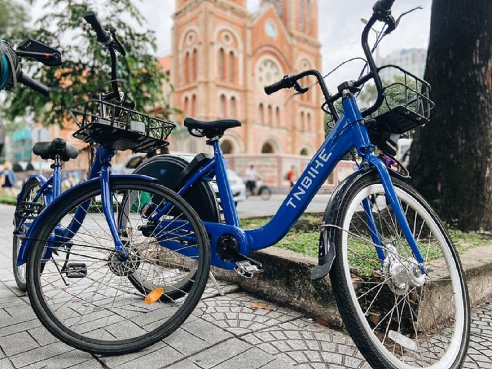 Thí điểm xe đạp cho thuê 10.000 đồng/giờ khu trung tâm TP.HCM từ tháng 8