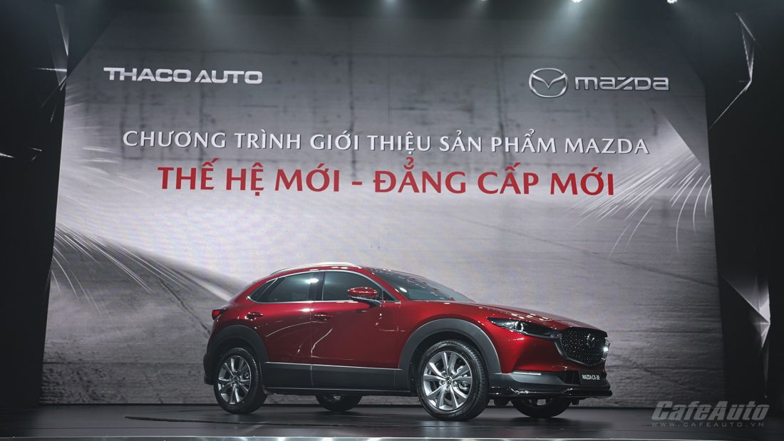 Mazda CX-3 tại buổi lễ ra mắt