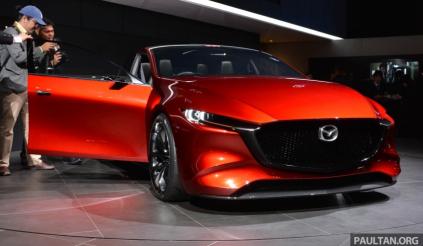 Hé lộ hình ảnh Mazda3 2019, thay đổi toàn diện