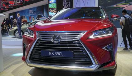 Ngắm phiên bản 7 chỗ Lexus RX350L 2019 tại triển lãm Ô tô Việt Nam