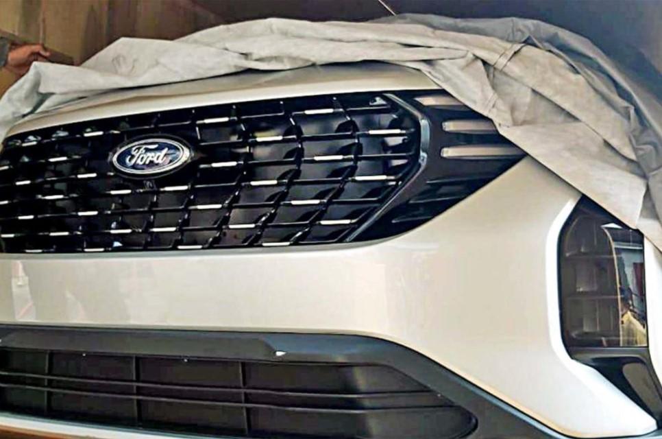 Hình ảnh đầu xe Ford EcoSport 2021