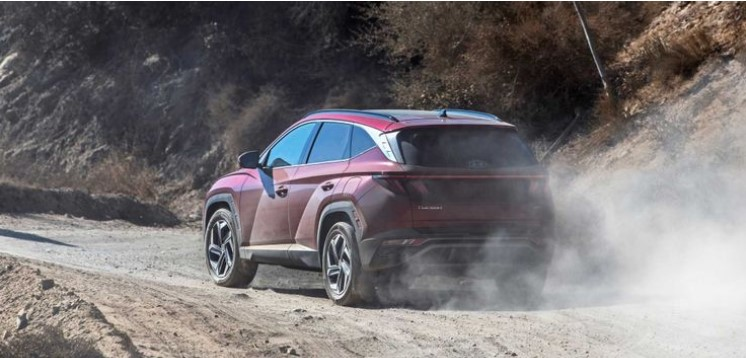 Hyundai Tucson 2021 đi địa hình