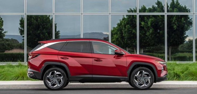 Hyundai Tucson 2021 thân xe
