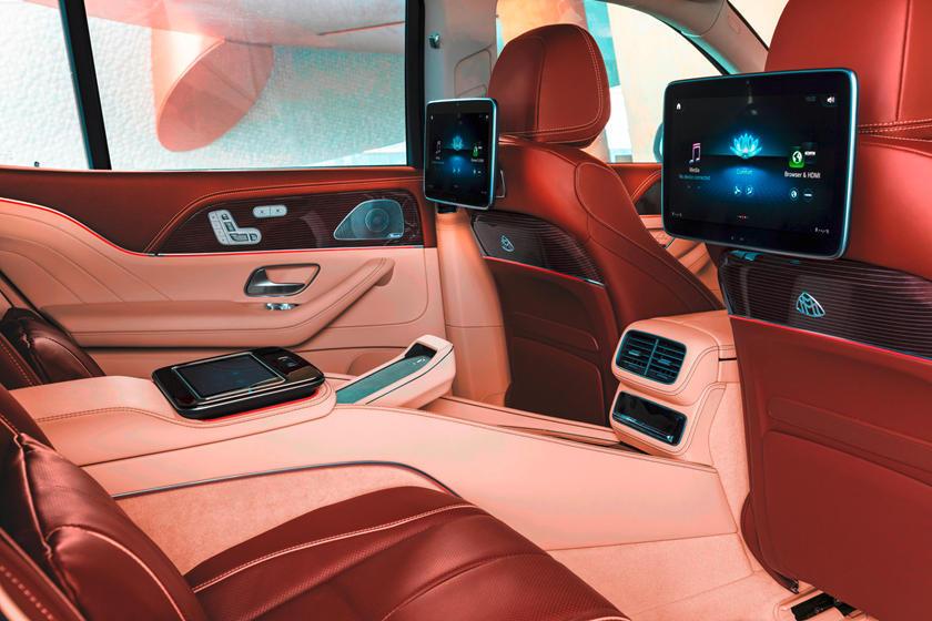 maybach gls 600 interior
