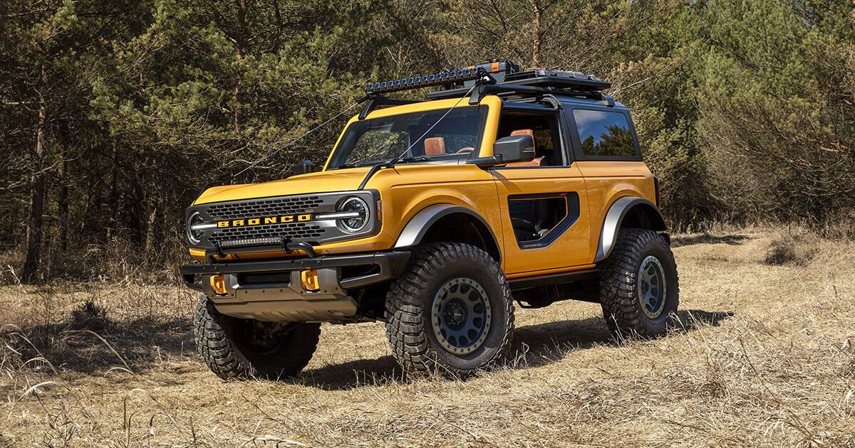ford bronco mới