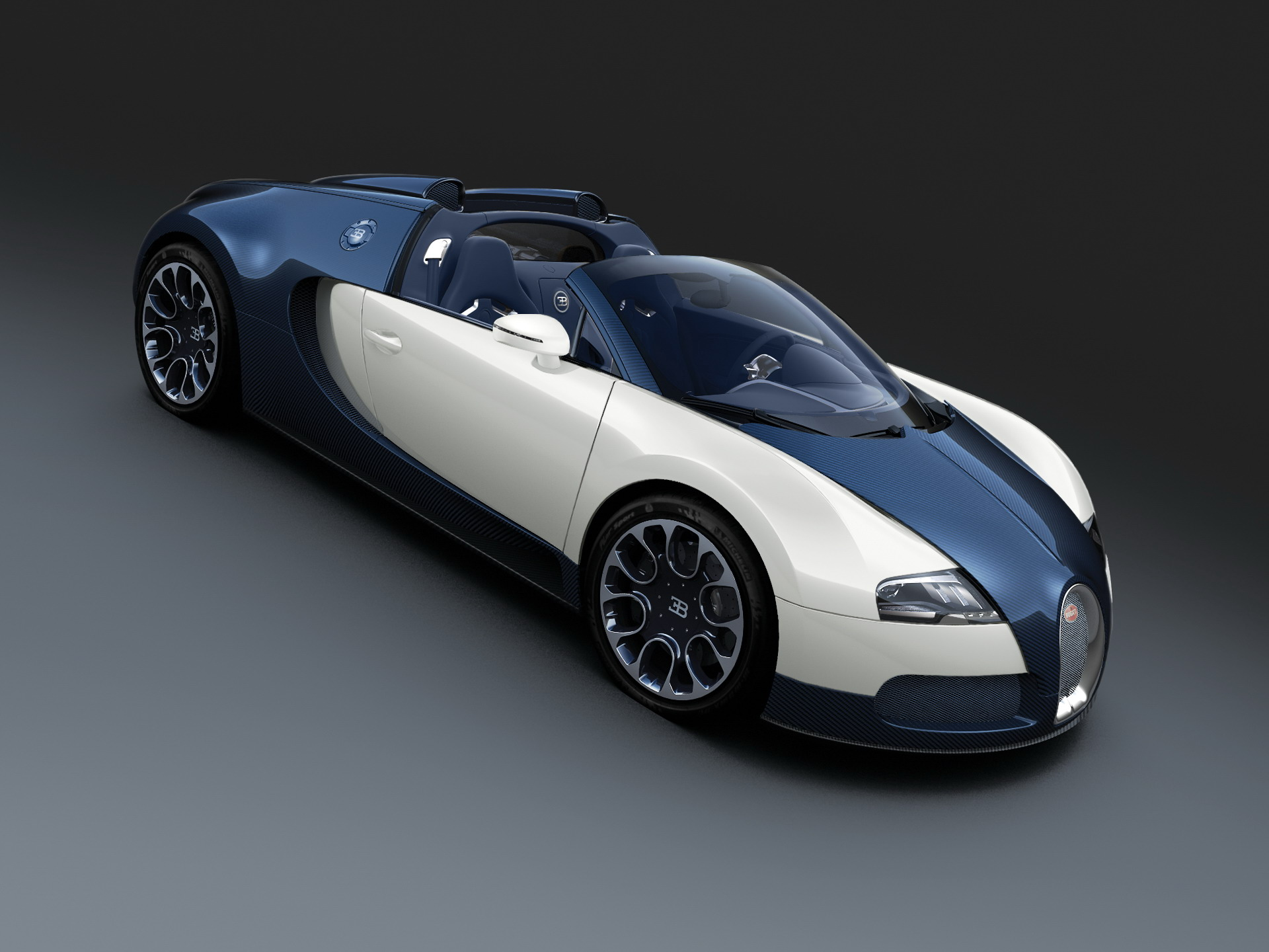 bugatti veyron grand sport royal dark blue