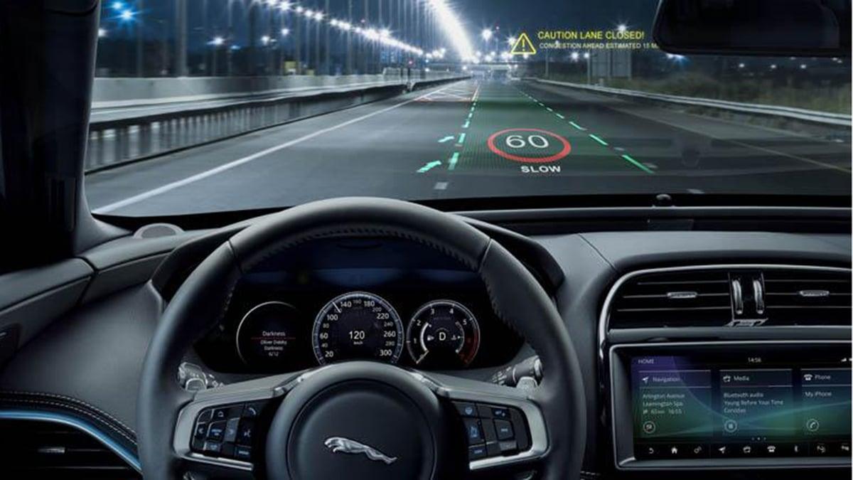 màn hiển thị HUD ô tô
