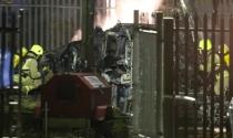 Vụ rơi trực thăng của Chủ tịch Leicester: Nguy cơ không ai sống sót