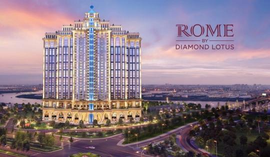 Căn hộ Rome Diamond Lotus quận 2