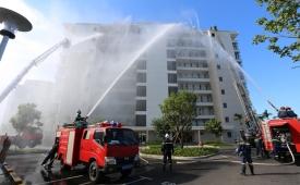 Giám đốc Cảnh sát PCCC Đà Nẵng: Kiểm tra PCCC các chung cư, khách sạn trong tháng 6