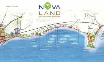 Novaland đổ bộ vào Phan Thiết với loạt dự án khu đô thị, hạ tầng
