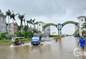 Chủ đầu tư Làng biệt thự triệu đô yêu cầu cư dân chuyển tài sản trước cơn bão số 4