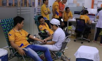Hơn 200 cán bộ nhân viên Thắng Lợi Group tham gia hiến máu nhân đạo