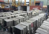 Siết chặt nhập khẩu sắt, thép phế liệu