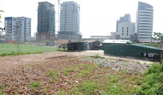 Hà Nội: Không giao đất cho các tổ chức đang có dự án chậm triển khai