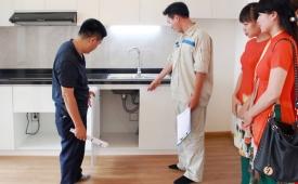 Nhận bàn giao nhà, người mua cần chú ý điều gì?