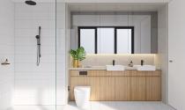 Ứng dụng phong cách tối giản cho phòng tắm