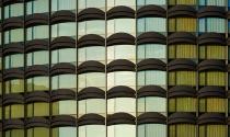 Tòa nhà gây sốt nhờ lớp áo xoắn lượn như sóng biển