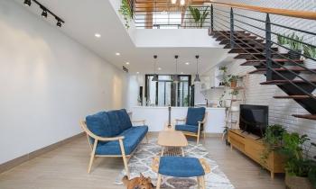 Căn nhà 100m2 thoáng mát với thiết kế đơn giản nhưng hiện đại ở Đà Nẵng