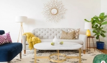 Phòng khách nhỏ với thiết kế đơn giản nhưng sang trọng