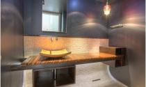 Mẫu bồn rửa sang trọng cho phòng tắm hiện đại