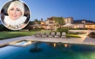 Biệt thự siêu sang 22,5 triệu USD của Lady Gaga