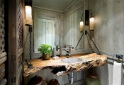 Những phong cách trang trí độc đáo cho phòng tắm