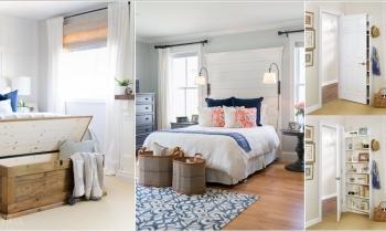 10 cách để lưu trữ nhiều hơn trong phòng ngủ của bạn