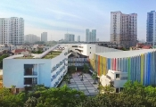 Lạc trôi trong ngôi trường xanh ở Hà Nội