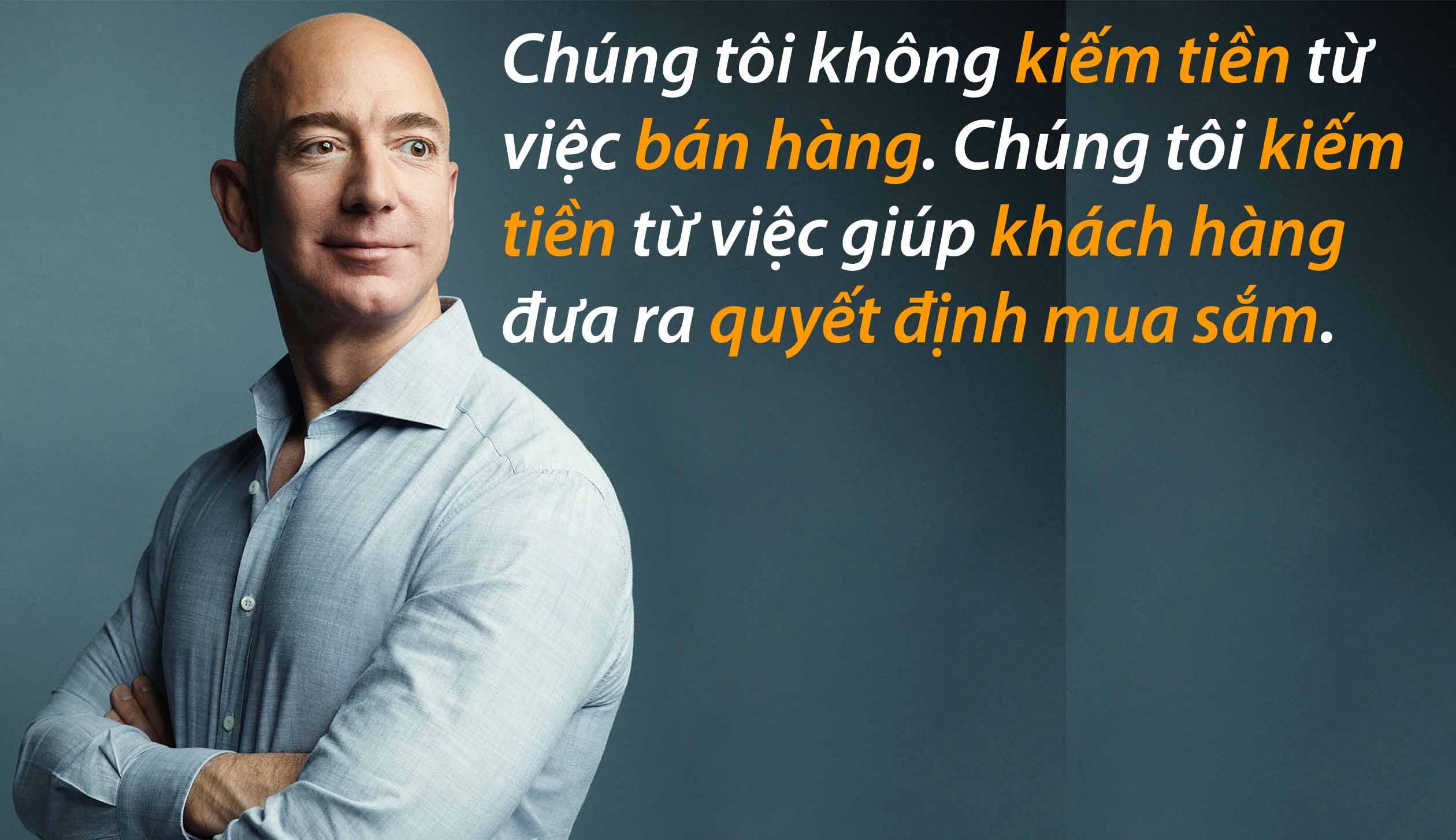 9 câu nói tiết lộ bí quyết thành công của tỷ phú Jeff Bezos ...