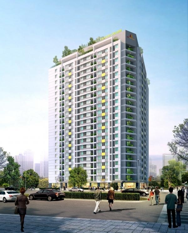 rainbow linh dam  1357925054 Tổng quan và quy mô khu chung cư Rainbow Linh Đàm