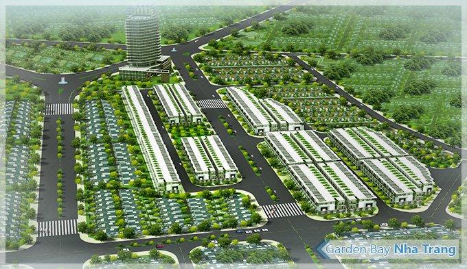 garden bay nha trang  1368868741 Tổng quan và quy mô khu nhà ở liên kế và TTTM Garden Bay Nha Trang