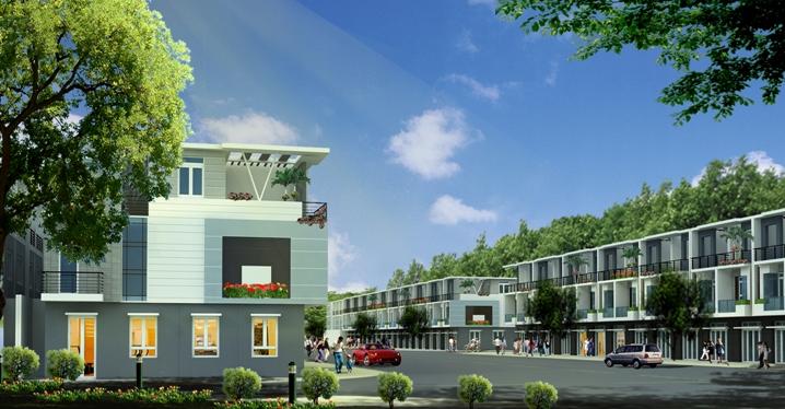 garden bay nha trangnhalienke 1368868745 Tổng quan và quy mô khu nhà ở liên kế và TTTM Garden Bay Nha Trang