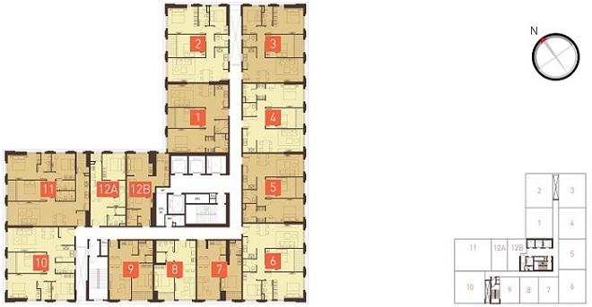 icon56mat 1396969790 Tổng quan và quy mô khu căn hộ thương mại Icon 56