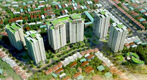 Berriver Long Biên: Khu đô thị ven Sông Hồng