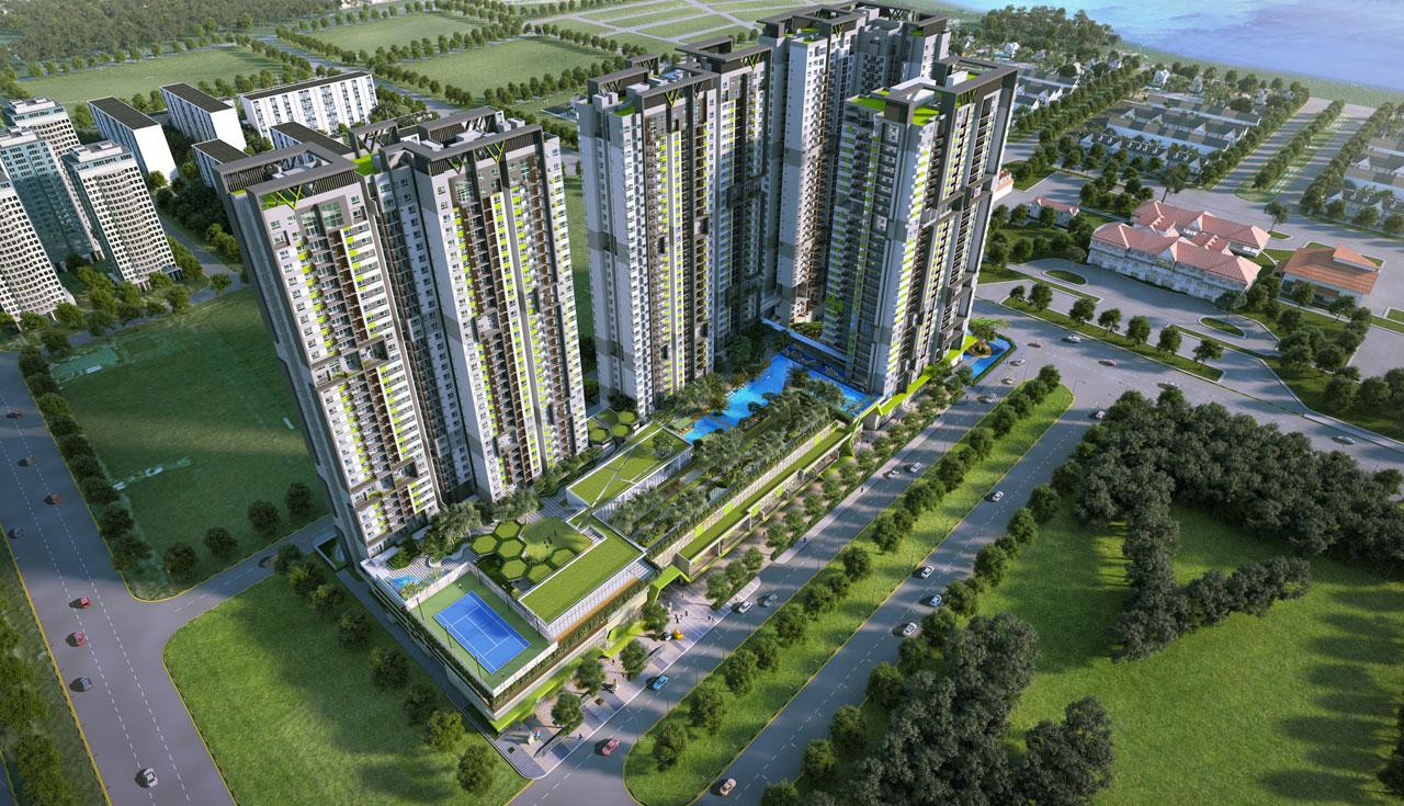 Quy mô dự án căn hộ Vista Verde Quận 2