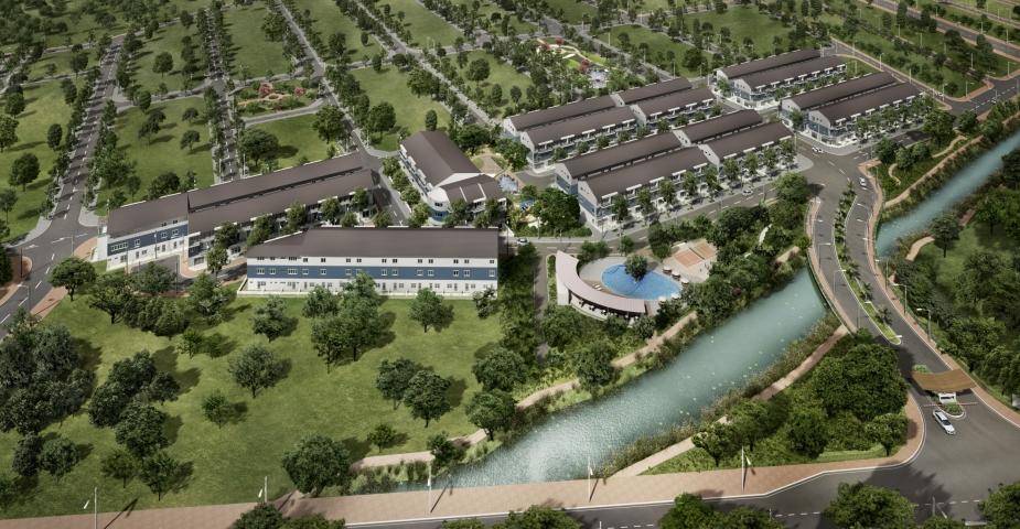 river terrace 1422984689 Tổng quan và quy mô khu dân cư River Terrace