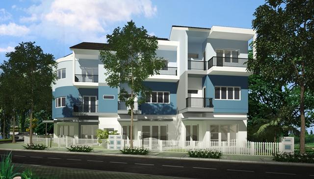 river terracemaunha 1422985290 Tổng quan và quy mô khu dân cư River Terrace