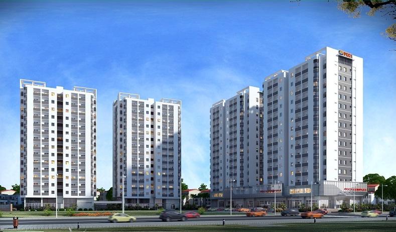 phoi canh goc 1428689383 Tổng quan và quy mô khu căn hộ PCC1 Complex