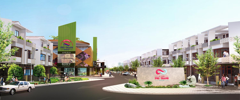 duancattuongphuthanhcong 1433352621 Tổng quan và quy mô khu dân cư thương mại Cát Tường Phú Thạnh